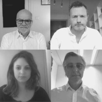 Conférence GESTE - Rebecca Amsellem, Benoit Flint, Frederic Filloux et Jérôme de Lempdes